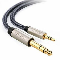 """UGREEN 6.35mm 1/4"""" Male to 3.5mm 1/8"""" Male TRS Stereo Audio"""
