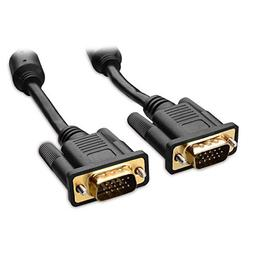 Cable Matters VGA to VGA Cable with Ferrites  25 Feet