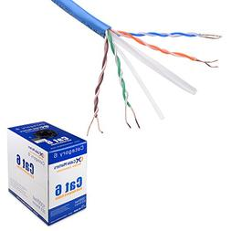 Cable Matters In-Wall Rated  Bare Copper Cat 6 / Cat6 Bulk