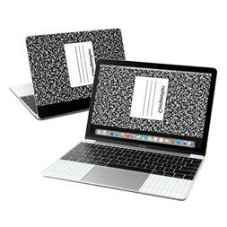 Apple MacBook 12in Skin - Composition Notebook - Sticker Dec
