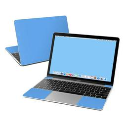 Apple MacBook 12in Skin - Solid Blue - Sticker Decal