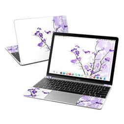 Apple MacBook 12in Skin - Violet Tranquility - Sticker Decal