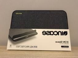 Brand New Incase Designs ICON Notebook Sleeve Mac Book 11 In