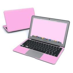 DecalGirl MacBook Air 11in Skin Solid State Pink Laptop Remo