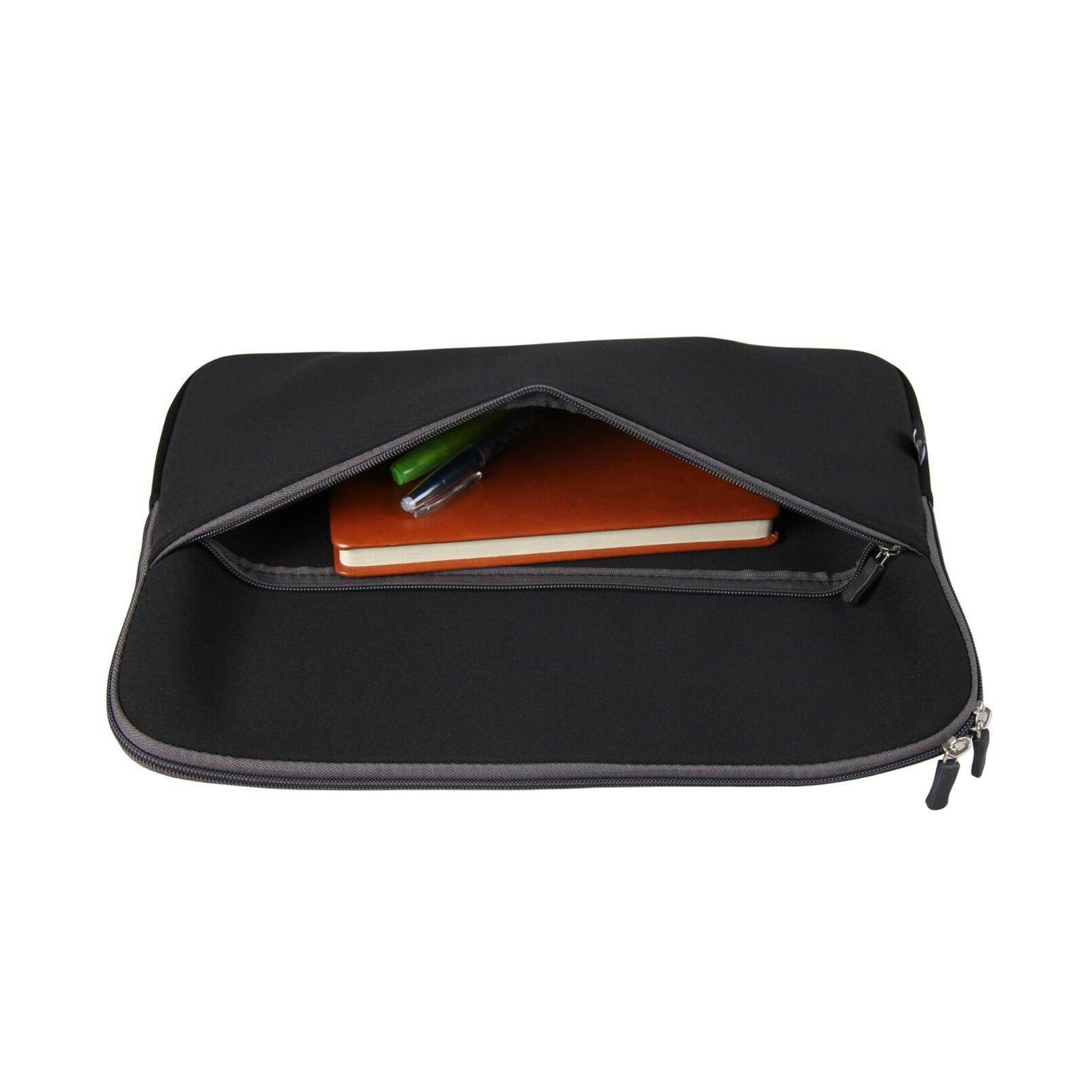 """15"""" Soft Sleeve Case for 15.6"""" Dell Acer Macbook"""