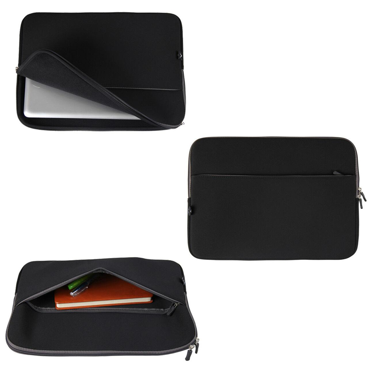 """15"""" Laptop Sleeve Case Cover Pouch for 15.4"""" Dell Macbook"""