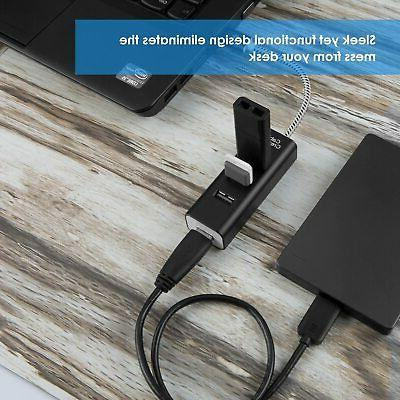 CableCreation 4-Port USB Hub 5Gbps Transfer for MacBook…