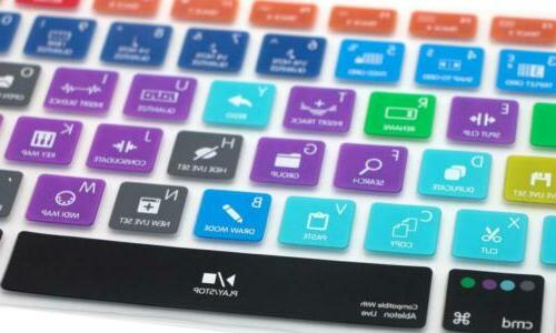HRH Live Hotkey Silicone Keyboard Cover Skin for MacBook...