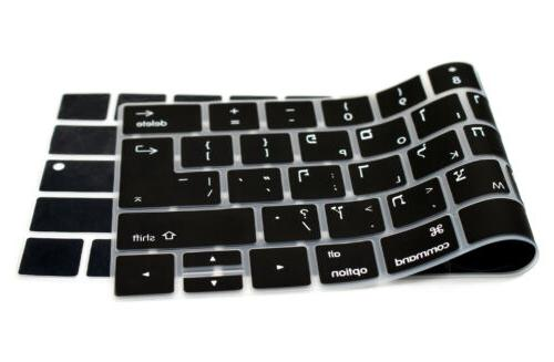 "Hebrew Skin For MacBook 13""15"" Touch A2159"