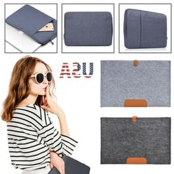 Laptop Soft Sleeve Bag Case Pouch For DELL HP ACER ASUS LENO