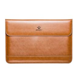 LENTION Leather Sleeve Case for Macbook Air 2018-2019 Model
