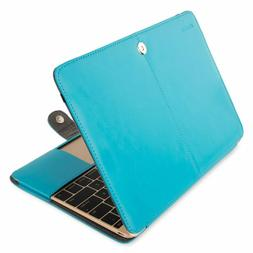 MOSISO PU Leather Case Only Compatible MacBook 12 Inch with