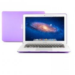 GMYLE Purple Rubberized See Thru Hard Shell Snap On Case for