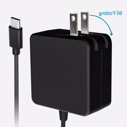 TypeC 45W Charger for Apple MacBook Pro 12/13,Samsung Galaxy