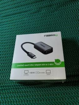 Ugreen USB-C to VGA adapter with power delivery compatible w