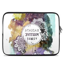 Zipper Sleeve Bag Cover - Radiate - Fits Most Laptops + MacB