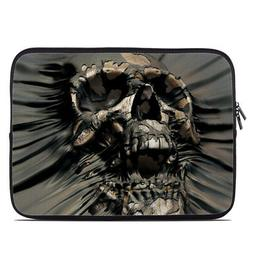 Zipper Sleeve Bag Cover - Skull Wrap - Fits Most Laptops + M