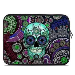 Zipper Sleeve Bag Cover - Sugar Skull Sombrero - Fits Most L